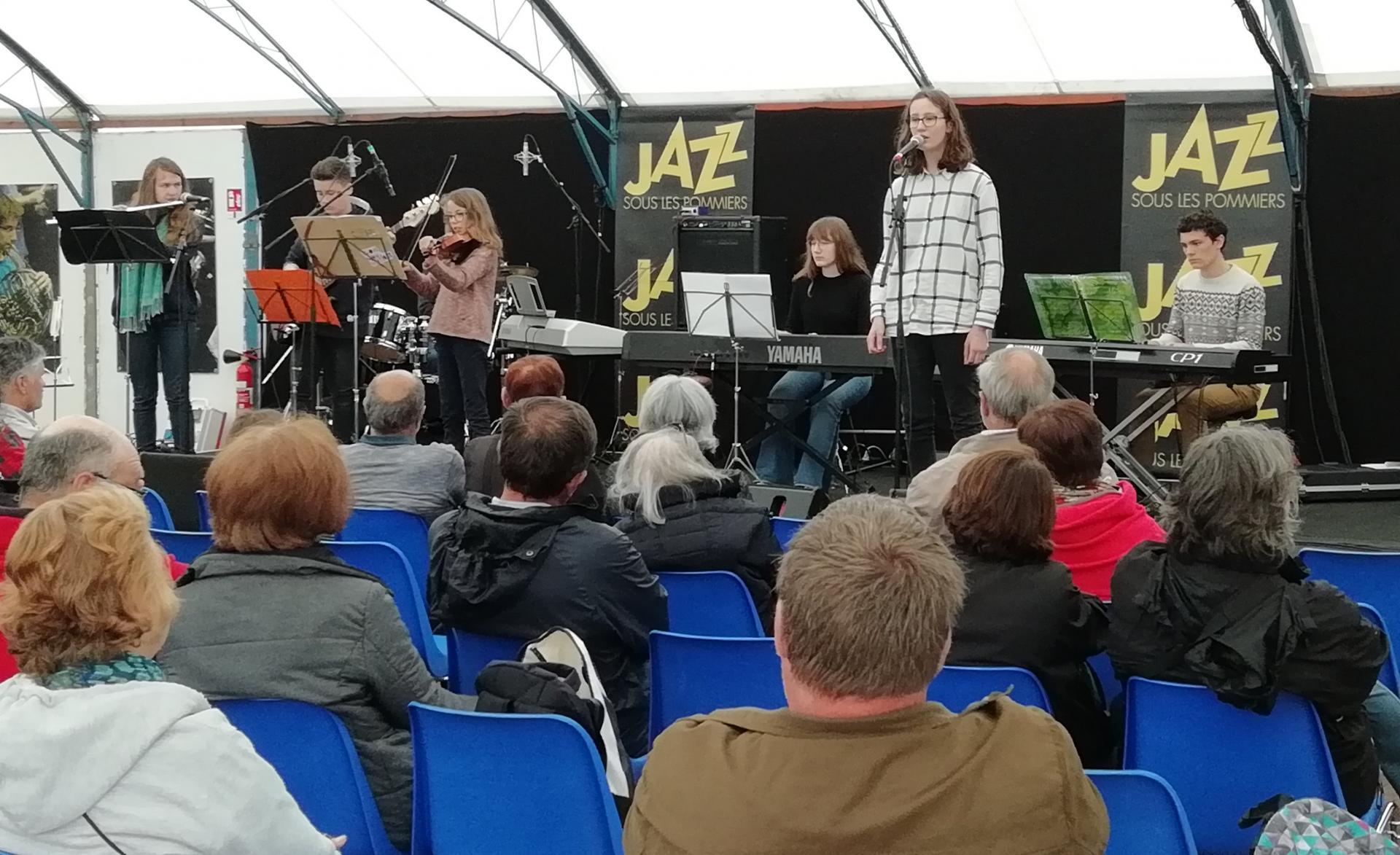Festival Jazz sous les Pommiers mai 2018